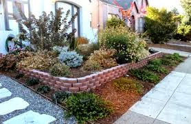 Low Maintenance Landscaping Ideas For Front Of House The Garden Yard  Knockout
