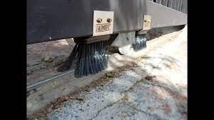 mr sweepie sliding gate track sweeper