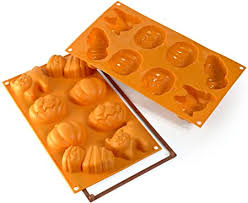 silikomart <b>Silicone Mould Halloween</b>, Orange: Amazon.co.uk ...
