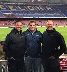 """Todd Beane on Twitter: """"Thanks to @coachjohnnyo and @SoccerSpecific Anthony  Latronica for joining us at TOVO Coaching Course in Barcelona.… """""""