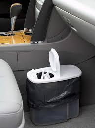 diy car trash can from bh g