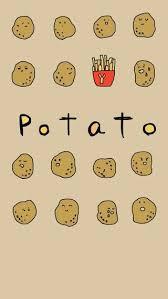 cute potato wallpaper.  Wallpaper Potato Wallpaper Throughout Cute Wallpaper Pinterest