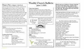 Church Program Templates Free Download Free Printable Church Program Templates New New Free