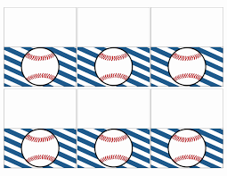Place Card Holder Template 019 Luxury Baseball Place Card Holders Free Printable Paper