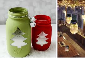 Decorate A Jar For Christmas Best Mason Jar Christmas Decorations Color And Style 64