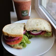 panera bread mediterranean veggie sandwich. Fine Veggie Vegan  Panera Bread Mediterranean Veggie Sandwich On Sourdough No Feta  Add Avo  Blueberry Peach Smoothie Intended Bread Veggie Sandwich D