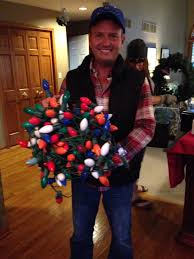 Clark Griswold Hanging Lights Clark Griswold Christmas Vacation Party Costume Idea