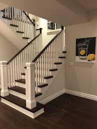 basement renovation ideas. Perfect Basement Open Basement Renovation Open Staircase Oak Stairs  Stairs Painted Risers With Basement Renovation Ideas
