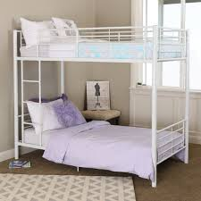 Bunk Bed Duro Hanley Twin Over Twin Bunk Bed White Bunk Beds Loft