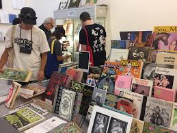 the ny art book fair covers all points whether you wish to pay what you want for the phenomenal zines by research and destroy new york city or you