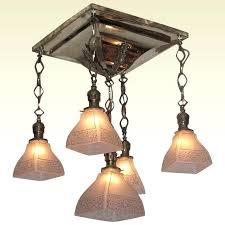 arts and craft lighting fixture antique shower arts crafts lighting fixture original vintage light shades arts arts and craft