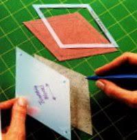 A Tumbling Block Tutorial in Ten Easy Steps & quilting templates Adamdwight.com
