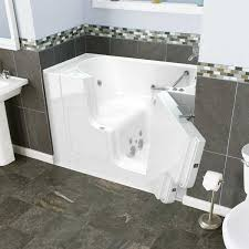 wlw pc gelcoat value series 30 x 52 outward opening door walk in bathtub with whirlpool