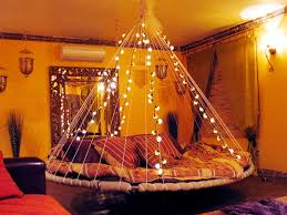 Floating Bed Fairy Lights