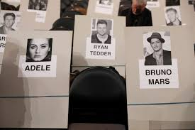 Grammys 2017 Seating Chart We Know Who Twenty One Pilots Will Be Sat Next To At The