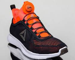 reebok basketball shoes pumps. reebok pump plus tech men run running shoes new black lead orange bd5759 basketball pumps y