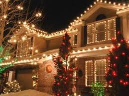 christmas lighting ideas houses. exterior christmas lighting white lights on house red trees ideas houses