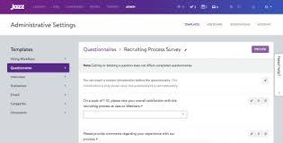 JazzHR - Questionnaires