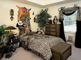 Leopard Print Bedroom African Themed Animal Print Bedroom Interior Ideas Atzinecom