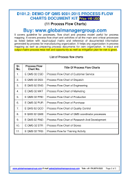 Process Flow Chart For Qms 9001 2015 Pdf Flipbook