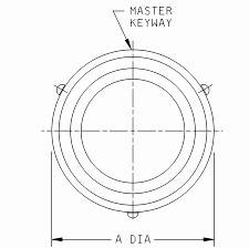 Ms3473 connectors receptacle electrical series ii hermetic solderless solder mounting bayo coupling class n dual