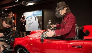 Udo-Lindenberg-exhibition at the Porsche Museum