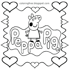 Peppa Pig Coloring Pages Pdf Dpalaw