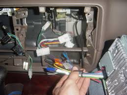 new faq topic radio install aftermarket and others ih8mud forum don t try to rip into the factory wiring harness because you will most likely kick yourself if you do i m quite sure it would take a lot of time