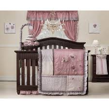 Ladybug Crib Bedding  Ladybug Themed Nursery  Ladybug Bedroom  Pink and  Brown Ladybug Decorations