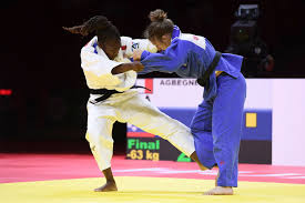 Competing in the −63 kg weight division she won the european title in 2013, the world title in 2014. French Judo Star Agbegnenou Plans To Take Year Long Break After Tokyo 2020