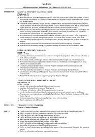 sample resume for apartment manager property manager resume template assistant job description skills