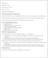 No Experience Subsitute Teacher Resume Sample