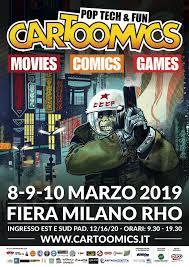 Cartoomics - 8-9-10 Marzo 2019