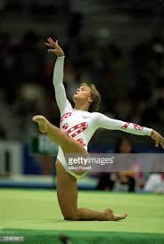 floor gymnastics moves. Donielle Thompson Of The USA Moves In Floor Exercise During World Gymnastics Championships