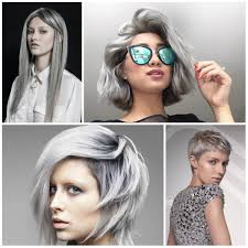 2016 2017 Trendy Grey Hair Colors And Hairstyles Best Hair Color Gray Hair Styles 2017