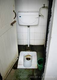 A pay toilet that cost 5 Rupees (10 cents at the time) to use at the Red  Fort in New Delhi: a popular tourist destination.