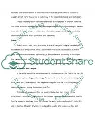 ontology and epistemology essay example topics and well written text