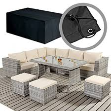 rattan garden furniture covers. large casual rattan garden furniture dining set cover 300cm x 270cm 71cm covers