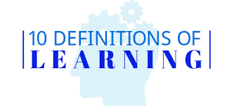 definitions of learning