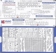 Round To Rectangular Duct Chart Air Duct Sizing Calculator