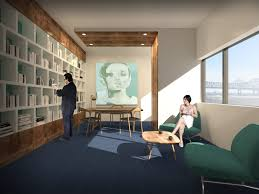 size 1024x768 office break. Rendering Of The, Expanded, Launch Pad Space At 400 Poydras Street. Via Size 1024x768 Office Break E