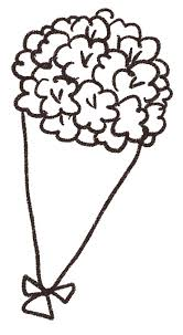 花束ブーケのイラスト ゆるかわいい無料イラスト素材集