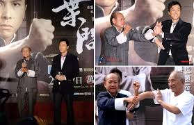 Sifu Lo with Donnie Yen and Ip Chun   Lo Man Kam Wing Chun - official  website