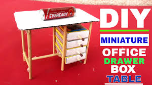 Cardboard Mini Table Very Simple Student Study Table