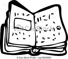 cartoon open book csp15548080