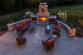 landscaping outdoor fireplaces in appleton wi