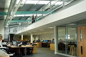 office mezzanine. additional office space mezzanine z