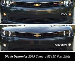 2010 Camaro Fog Light Bulb Size 5th Gen Camaro Fog Light Led Bulbs Match Rs Factory Halos