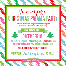 hello happiness a nashville lifestyle blog  christmas pajama link up party