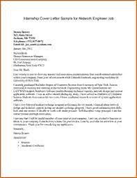 40 Sample Cover Letters For Internship Cover Letter
